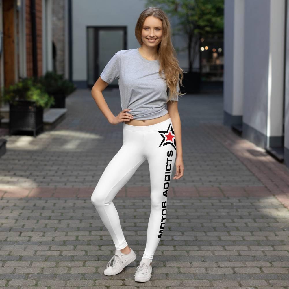 Girls Motor Addicts Enthusiasts Leggings