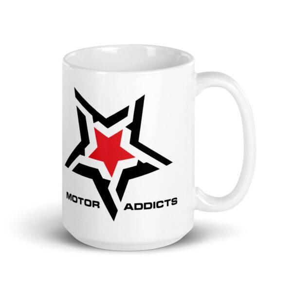 Motor Addicts Car and Bike Enthusiasts Coffee Mug