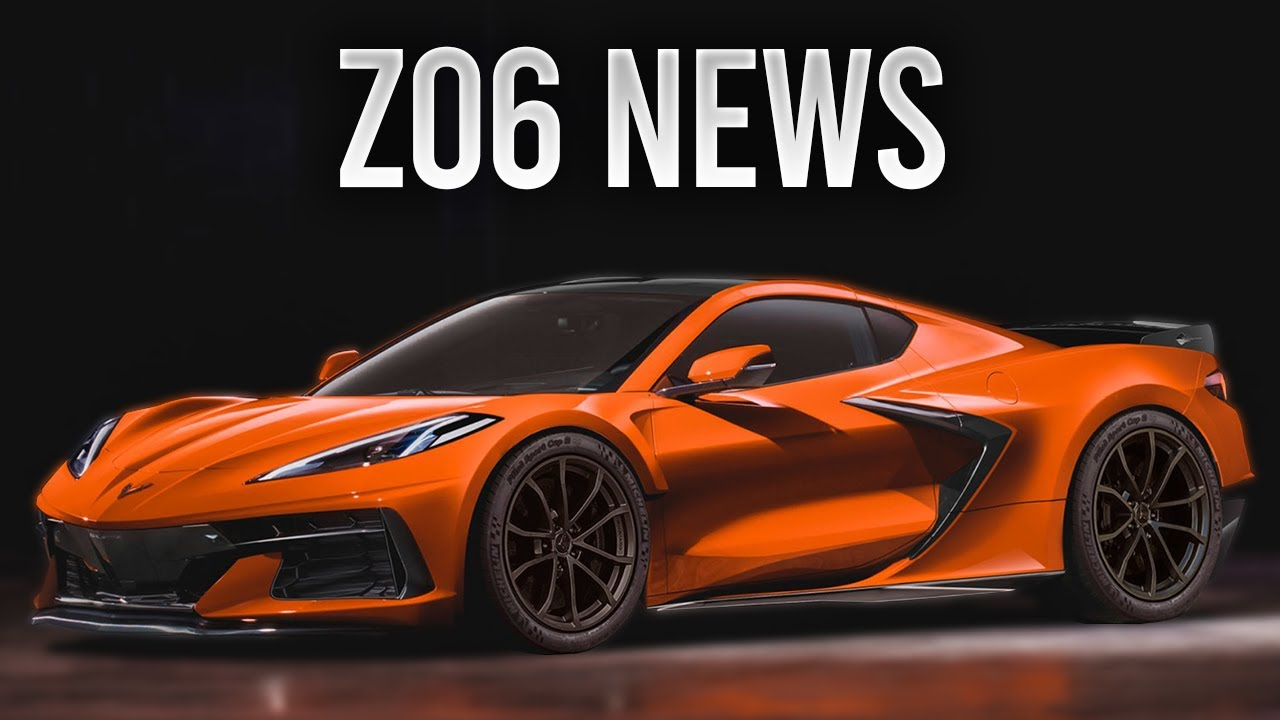 Chevrolet new 2022 corvette c8 z06