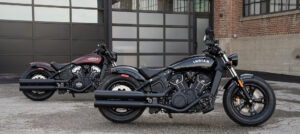 Indian Scout Bobber motorcycle